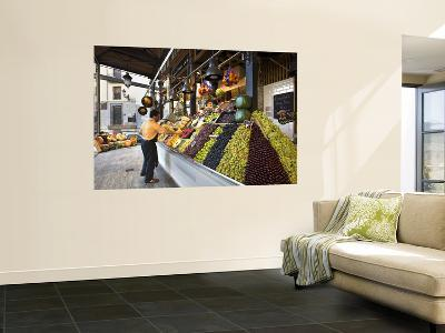 Fruit Stall at San Miguel Market-Diego Lezama-Wall Mural
