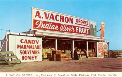 Fruit Stand, Ft. Pierce, Florida