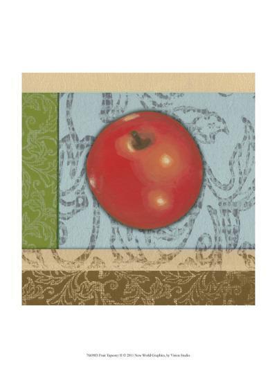 Fruit Tapestry II--Art Print