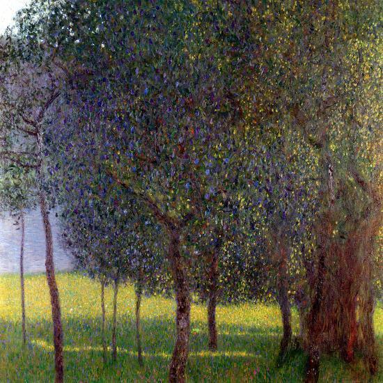 Fruit Trees, 1901-Gustav Klimt-Giclee Print