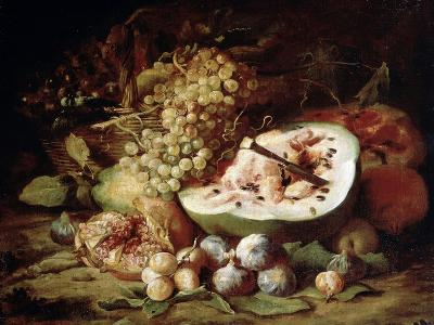 Fruits, 1670s-Abraham Brueghel-Giclee Print