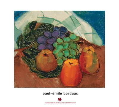 Fruits and Leaves-Paul-Emile Borduas-Art Print