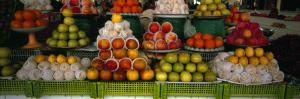 Fruits at a Market Stall, Bukhara, Uzbekistan