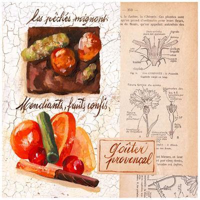 Fruits confis-Pascal Cessou-Art Print