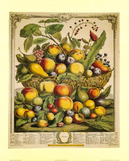 Fruits of the Season Summer-Robert Furber-Art Print