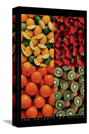 Fruits--Stretched Canvas Print