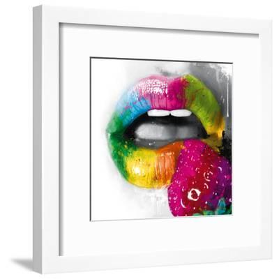 Fruity Kiss II-Patrice Murciano-Framed Art Print
