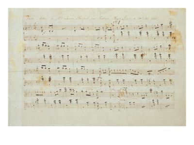 Autographed Manuscript Signed and Dedicated of the Grande Valse Brilliante, Opus 18 in E Flat Major