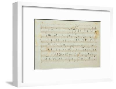 Autographed Manuscript Signed and Dedicated of the Grande Valse Brilliante, Opus 18 in E Flat Major