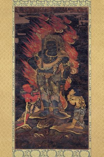 Fudo Myoo and Two Attendents--Giclee Print