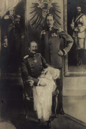 Fünf Generationen Von Prinzen, Adler, Kind--Giclee Print