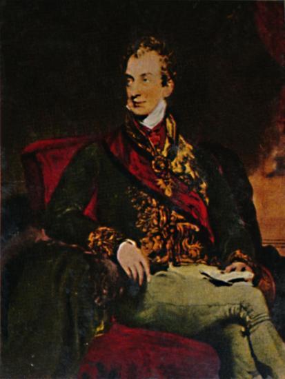 'Fürst Metternich 1773-1859', 1934-Unknown-Giclee Print