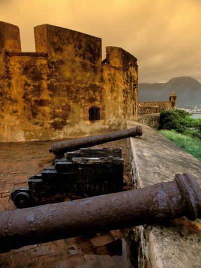Fuerte de San Felipe, Puerto Plata, Dominican Republic-Nik Wheeler-Photographic Print