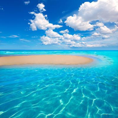 Fuerteventura Jandia Beach Sotavento at Canary Islands of Spain-Naturewolrd-Photographic Print
