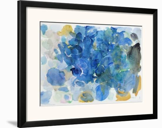 Fugal Blue-Ernst Wilhelm Nay-Framed Art Print