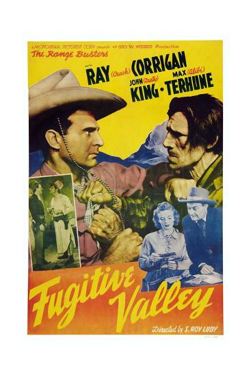 Fugitive Valley--Giclee Print