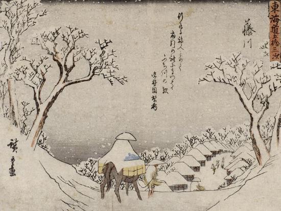 Fujikawa-Ando Hiroshige-Giclee Print