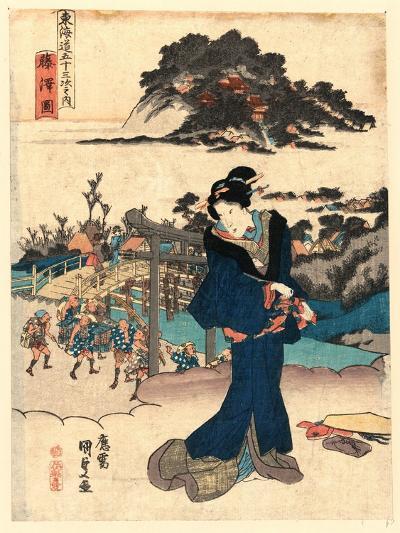 Fujisawa Zu-Utagawa Toyokuni-Giclee Print