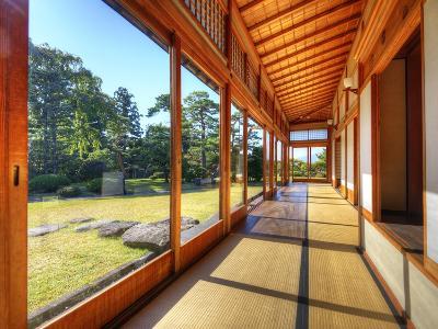 Fujita Memorial Japanese Garden in Hirosaki, Japan.-SeanPavonePhoto-Photographic Print