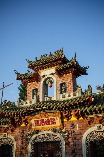 Fukian Assembly Hall (Phuc Kien), UNESCO World Heritage Site, Hoi An, Vietnam, Indochina-Yadid Levy-Photographic Print