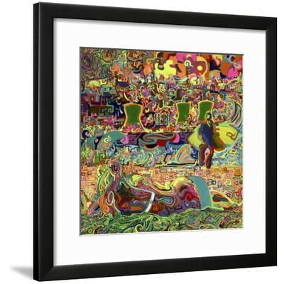 Fukushima Beach Party-Josh Byer-Framed Giclee Print