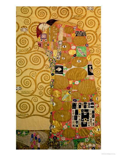 Fulfillment, Stoclet Frieze, c.1909-Gustav Klimt-Giclee Print
