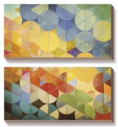 Full Circle II-Noah Li-Leger-Canvas Art Set
