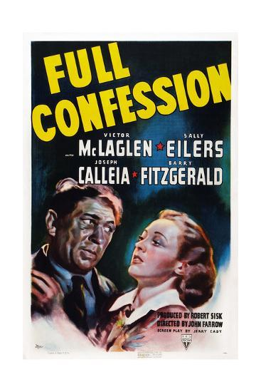 Full Confession--Giclee Print