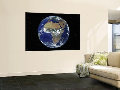 Full Earth Showing Africa, Europe During Day, 2001-08-07--Wall Mural