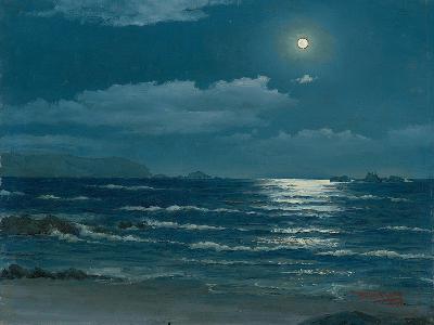 Full Moon, Pichilemu, Chile, 1958-Horacio G. Garcia-Giclee Print