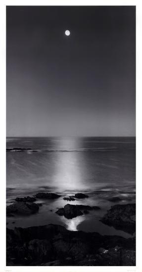 Full Moon Sea-Stephen Rutherford-Bate-Art Print
