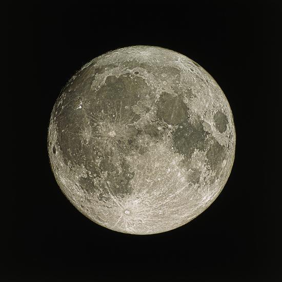 Full Moon-Eckhard Slawik-Premium Photographic Print