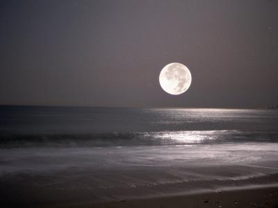 Full Moon-Mitch Diamond-Photographic Print