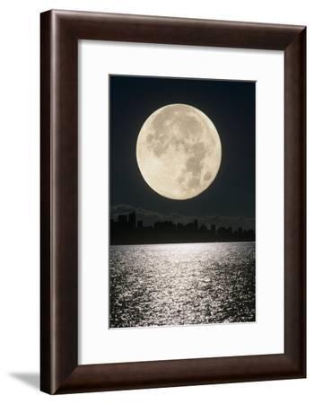 Full Moon-David Nunuk-Framed Photographic Print