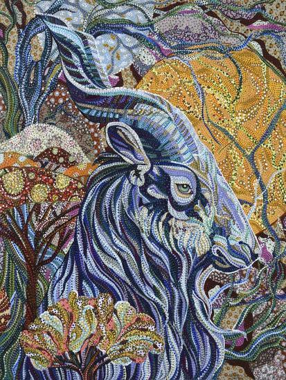 Full Moon-Erika Pochybova-Giclee Print