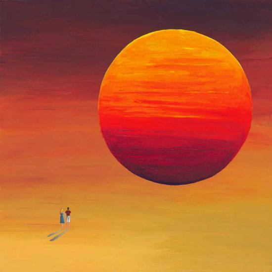 Full Sun-M^ Bineton-Art Print