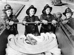 Full Time Fire-Women at Scott Field, Illinois