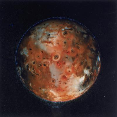 Full View of Io, One of the Moons of Jupiter, 1979--Giclee Print