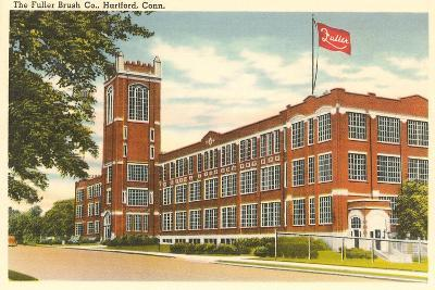 Fuller Brush Company, Hartford, Connecticut--Art Print