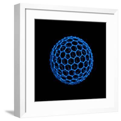 Fullerene Molecule-Laguna Design-Framed Photographic Print