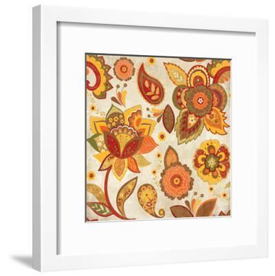 Fun Florals Spice Crop-Wild Apple Portfolio-Framed Art Print