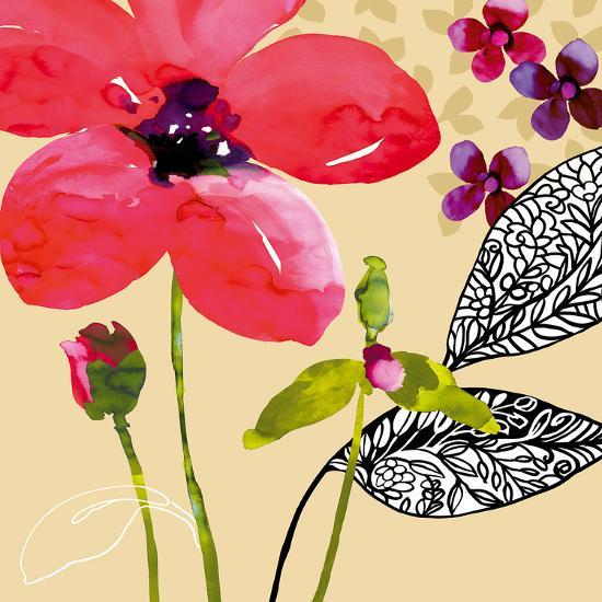 Fun Flowers I-Sandra Jacobs-Giclee Print