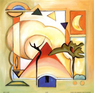 Fun in the Sun III-Alfred Gockel-Art Print
