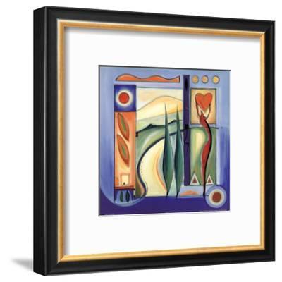 Fun in the Sun VII-Alfred Gockel-Framed Art Print