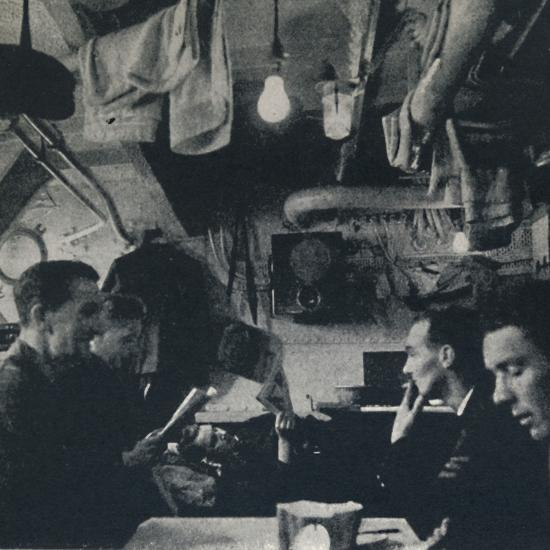 'Functional use of space on the mess deck', 1941-Cecil Beaton-Photographic Print