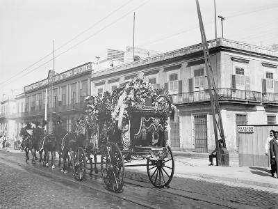 Funeral Car, Havana, Cuba--Photo