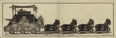 Funeral Car of the Late Duke of Wellington--Giclee Print