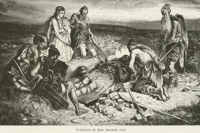 Funeral in the Bronze Age--Giclee Print