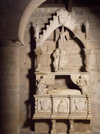 Funeral Monument, Church of Santa Maria Della Strada, Matrice, Molise, Italy--Giclee Print