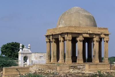 Funeral Monument, Makli Hill Necropolis, Thatta--Photographic Print